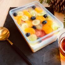 【小山甜點市集】 繽紛水果乳酪寶盒