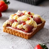 小山甜點市集-草莓提拉米蘇卡士達派-1